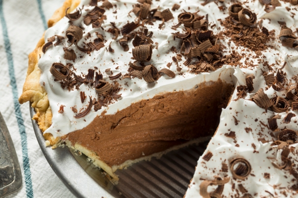 Sweet Homemade French Silk Pie